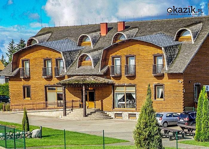 Piękne miejsce na skraju Borów Tucholskich! Relaksujący pobyt w Dworku Tucholskim- kwintesencji luksusu pośród natury.
