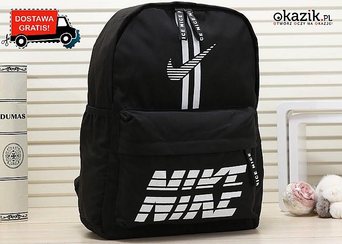 Absolutny HIT! Plecak sportowy Nike! Najwyższa jakość wykonania! Szeroki wachlarz kolorów!
