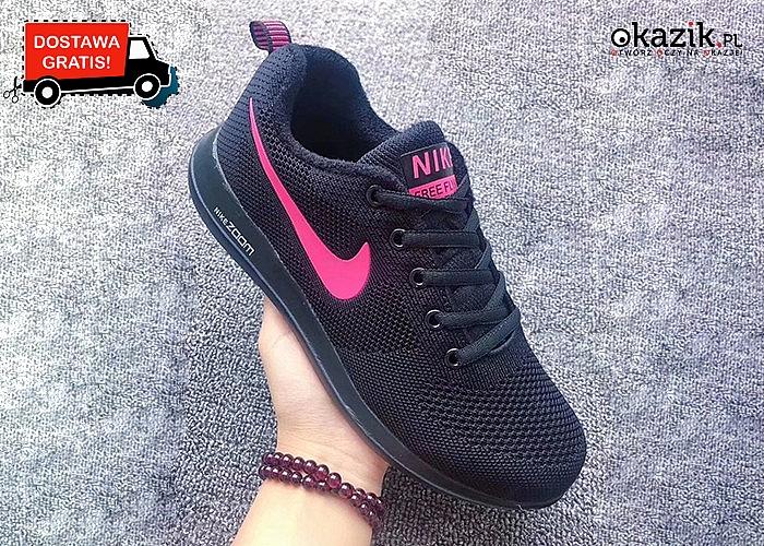 Lekkie jak piórko buty Nike! Najwyższa jakość wykonania!