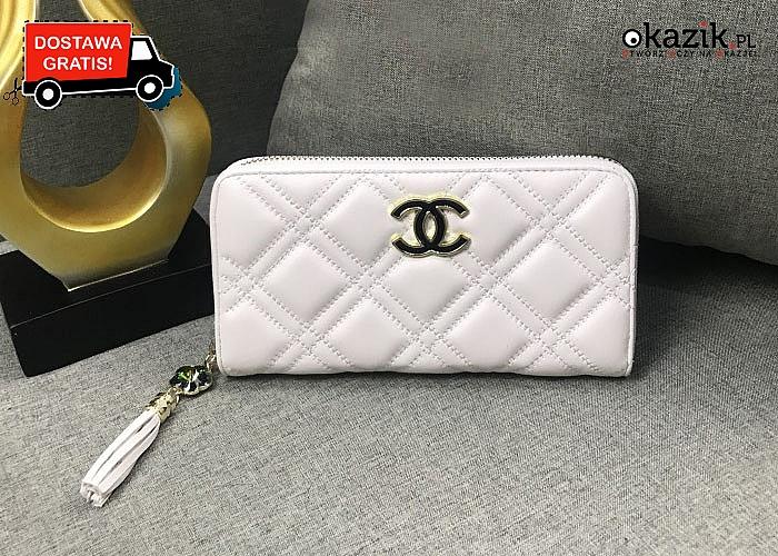 Elegancki portfel damski Chanel! Najwyższa jakość wykonania! Dla każdej kobiety!