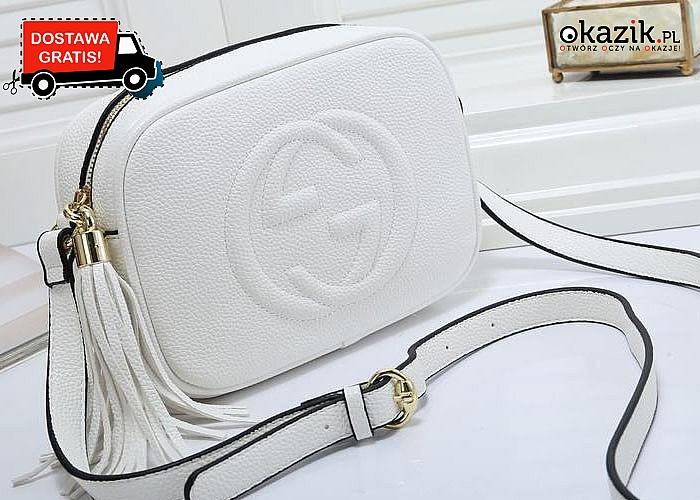 WOW! Luksusowa torebka kopertówka Gucci!