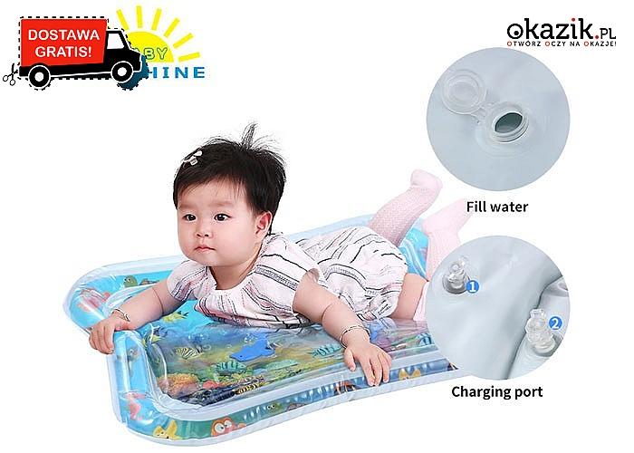 HIT! Mata wodna dla dzieci! Wzmacnia plecy! Rozwija utrzymanie równowagi!
