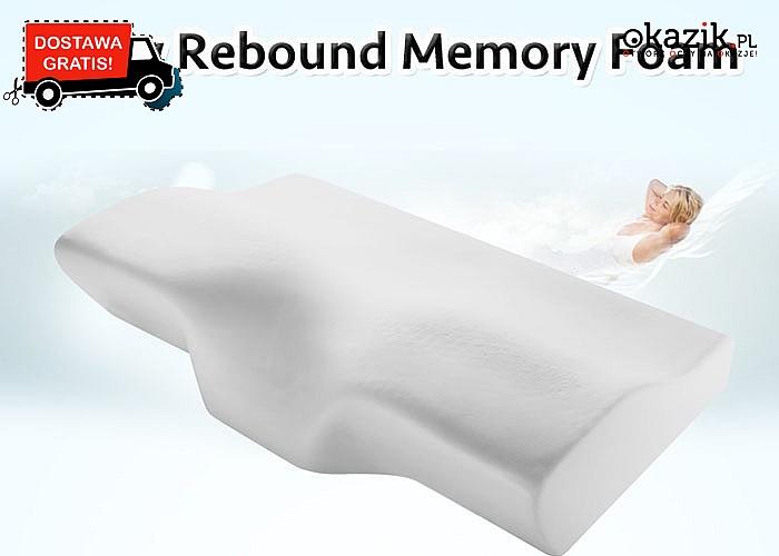 HIT! Memory pillow! Poduszka ortopedyczna dopasowująca się kształtu ciała! Antyalergiczna, wykonana z miękkiej pianki!