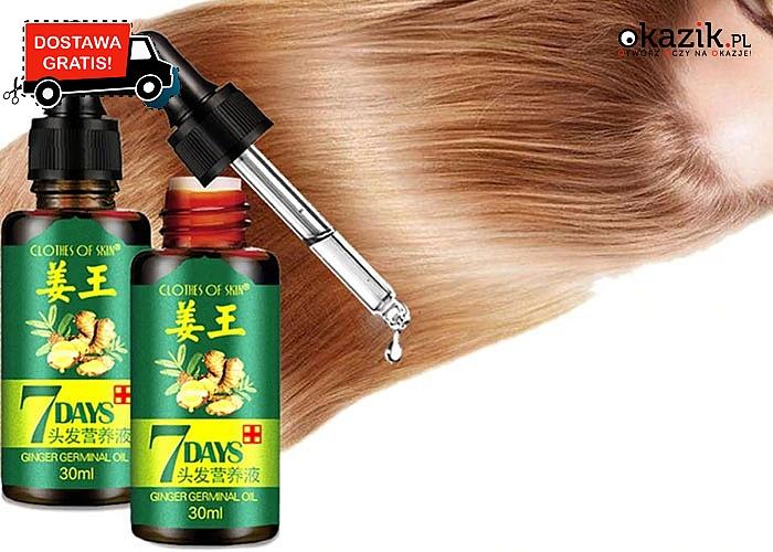 Olejek wspomagający porost włosów, zapobiegający wypadaniu oraz wzmacniający włosy!