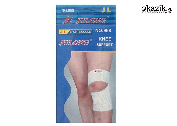Opaski uciskowe. Stabilizator na nadgarstek lub kolano.