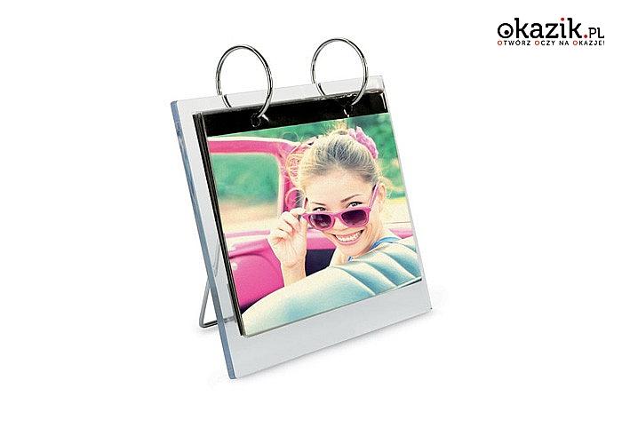 Nowość! Ramka obrotowa na 26 zdjęć o rozmiarze 10x15 cm! Doskonała alternatywa dla fotoalbumu! Doskonała na prezent!