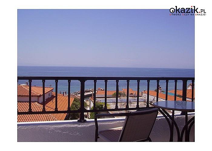 Wypoczynek nad morzem Egejskim. Coralli Hotel Apartments** zaprasza na komfortowe pobyty ze śniadaniami.