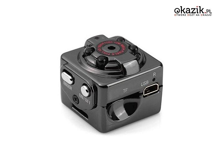 Hit na rynku szpiegowskim! Najmniejsze kamery dostępne na rynku! Klasyczna lub ukryta w butelce na wodę!