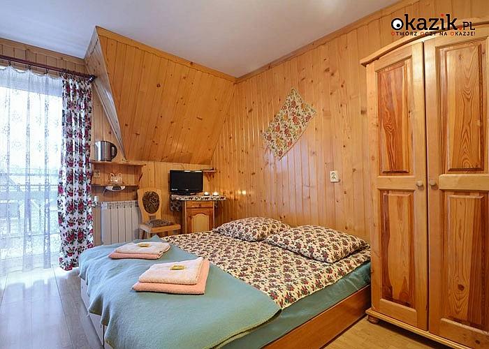 POBYT W BUSTRYKU w Domu Wczasowym Harnaś I! Komfortowe pokoje! Doskonała lokalizacja! Jacuzzi!