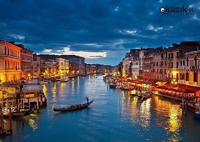 Sylwester w Wenecji! Przejazd autokarem, zwiedzanie, opieka pilota i zabawa sylwestrowa na ulicach Wenecji.