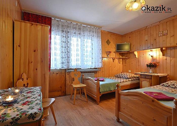 Sylwester W BUSTRYKU w Domu Wczasowym Harnaś I! Komfortowe pokoje! Doskonała lokalizacja!