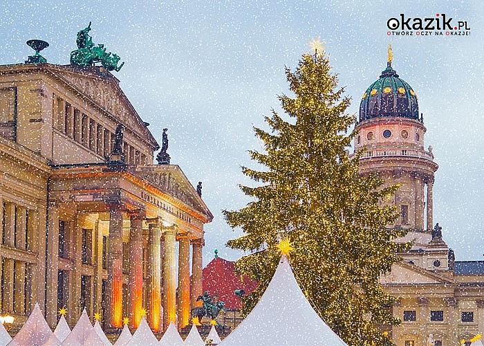 Jarmark Bożonarodzeniowy w Berlinie + Tropical Islands! Autokar klasy PREMIUM! Nocleg + śniadanie! Opieka pilota!