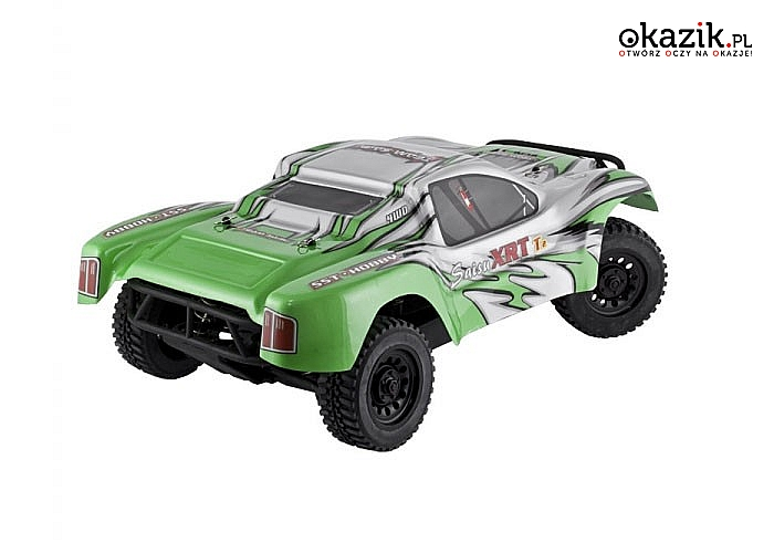 Auto elektryczne SHORT COURSE RTR 1:10 Off-Road! Doskonała konstrukcja! 2 modele! Doskonały na prezent!
