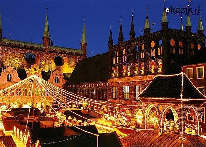 Odwiedź Jarmarki Bożonarodzeniowe! Lubeka i Schwerin! Zwiedzanie, przejazd autokarem klasy premium!