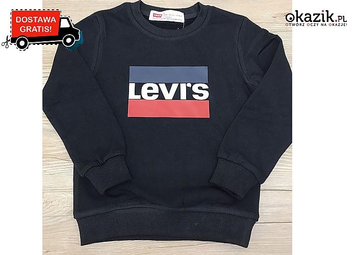 Sportowa bluza LEVI'S – dziecięce rozmiary. Dla chłopców i dziewczynek!
