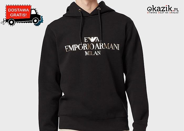 Bądź modny na co dzień! Stylowa bluza od Emporio Armani Milan!