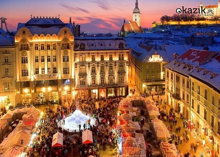 Świąteczna edycja Wycieczki Objazdowej do najpiękniejszych stolic Europy Środkowej! Noclegi! Autokar PREMIUM! Wyżywienie