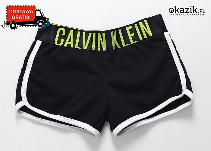 WOW! Sportowe szorty damskie CALVIN KLEIN! Dwa kolory do wyboru!