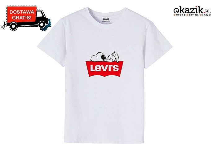 Bluzka dziecięca Levi's Snoopy! Najwyższa jakość wykonania! Mnóstwo kolorów i rozmiarów!