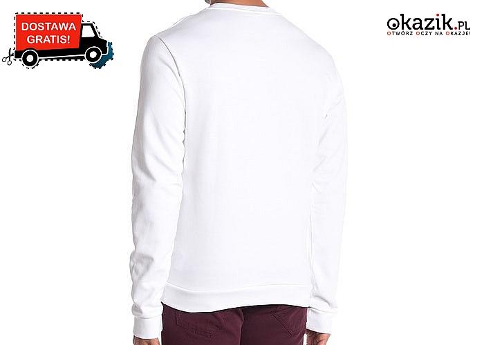 Doskonała dla każdego mężczyzny! Bluza męska Moschino! Doskonała jakość wykonania! Stylowa i komfortowa! Dwa kolory!