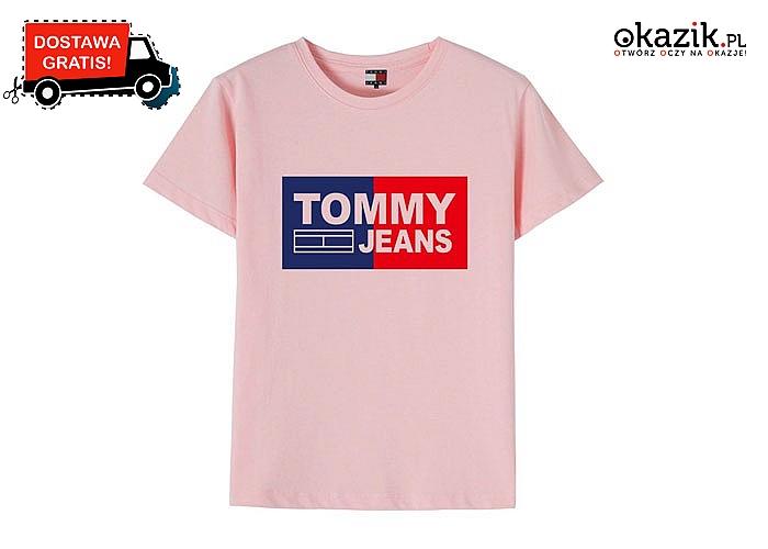Dla dziewczynki i dla chłopca! Dziecięcy t-shirt Tommy Hilfiger!