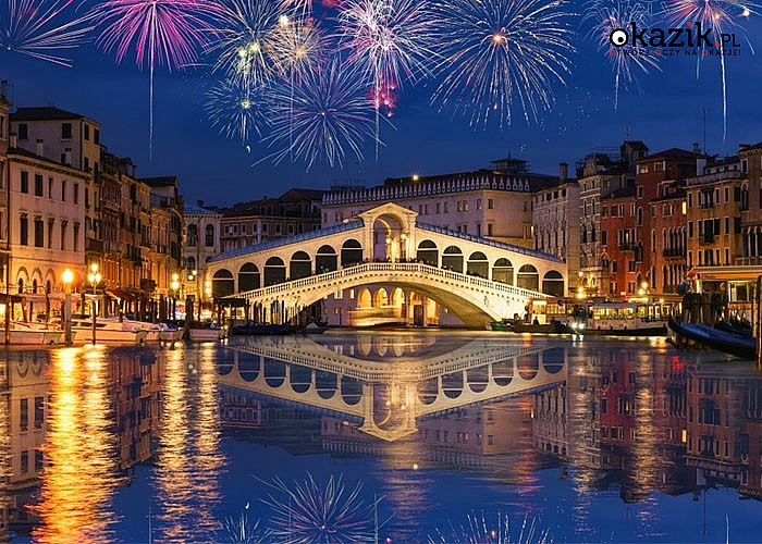 Przywitaj nowy rok w jednym z najpiękniejszych miejsc świata! Sylwester w Wenecji! Autokar PREMIUM! Wyżywienie! Nocleg!
