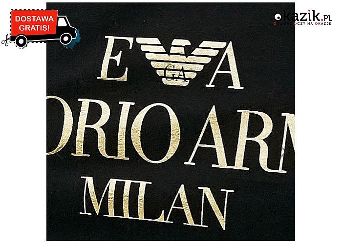 Modna koszulka EMPORIO ARMANI MILAN – dla stylowych mężczyzn!