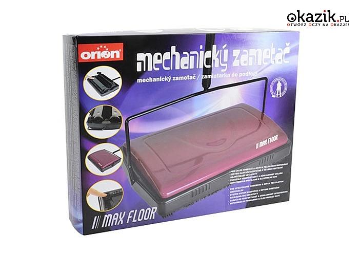 Idealny do szybkiego posprzątania mieszkania! Ręczny odkurzacz mechaniczny!