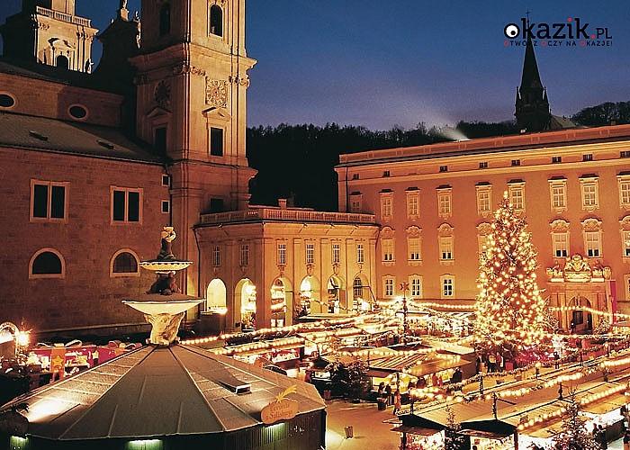 Poczuj magię Świąt! Jarmark Bożonarodzeniowy w Salzburgu. Przejazd, zwiedzanie i opieka pilota w pakiecie.