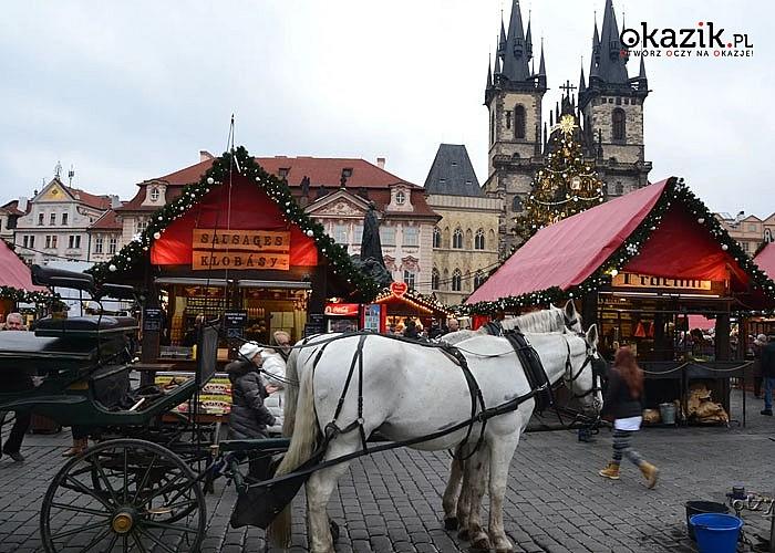 Jarmark Bożonarodzeniowy Praga Express! Autokar! Opieka pilota! Każdy znajdzie coś dla siebie!