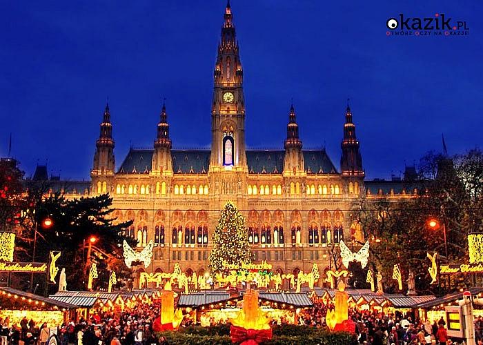 Magiczne chwile! Wybierz się na Jarmark Bożonarodzeniowy w Wiedniu. Przejazd, zwiedzanie i opieka pilota w pakiecie.