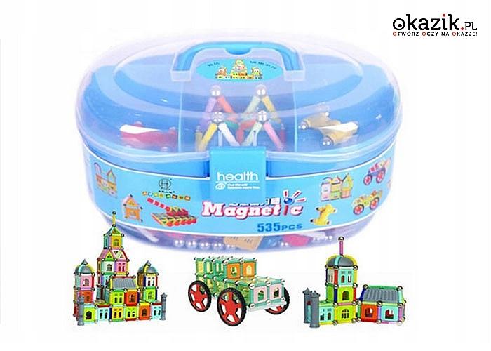 Klocki magnetyczne neodymowe pomagają rozwinąć zdolności manualne Twojego dziecka!