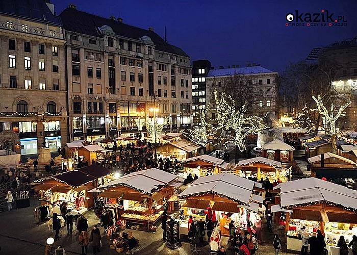 Olśniewający Budapeszt! Jarmark Bożonarodzeniowy w stolicy Węgier! Przejazd, zwiedzanie, nocleg i opieka w pakiecie.
