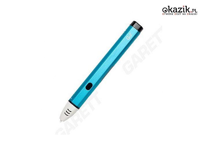 Niezwykłe długopisy 3D! Garett Pen! W magiczny sposób zmienia rysowanie w druk 3D! 3 modele do wyboru! Różne kolory!
