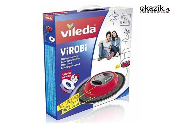 Vileda Virobi Slim mop automatyczny nieoceniona pomoc w codziennej walce z kurzem
