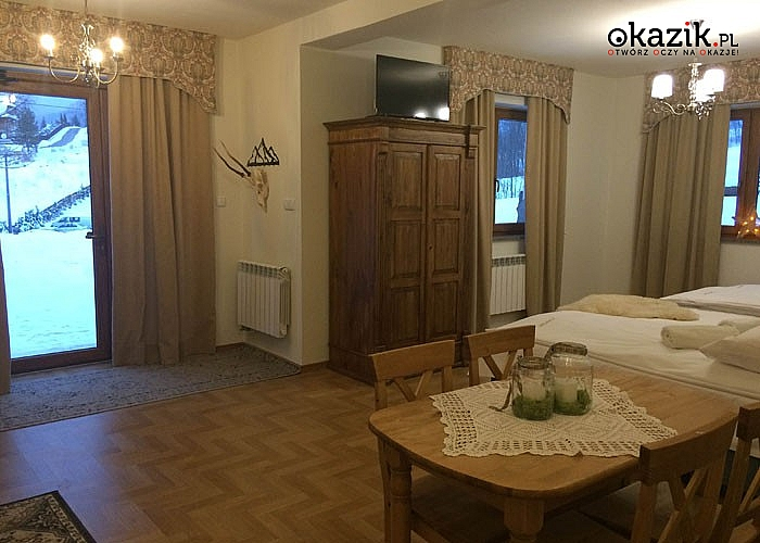 Złota jesień w Tatrach! Domek w Zakopanem zaprasza do przestronnych apartamentów!