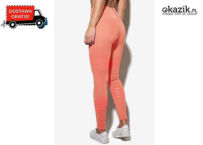 Stylowo na sportowo! Damskie legginsy Nike z szerokim pasem, w trzech kolorach do wyboru!