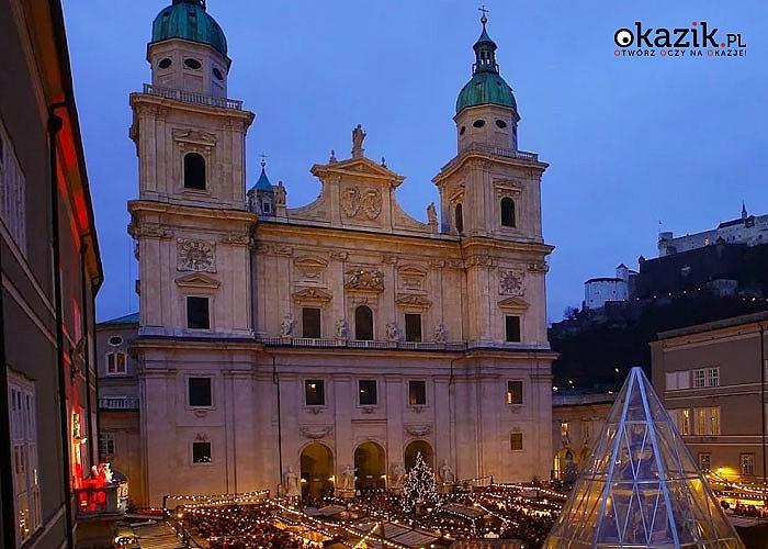 Jarmark Bożonarodzeniowy w Salzburgu. W pakiecie przejazd, nocleg w hotelu i opieka pilota.