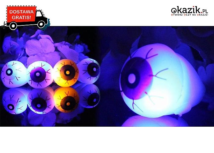 Oko rodem z horroru! Doskonała dekoracja na Halloween! Wysyłka GRATIS! (8 zł)
