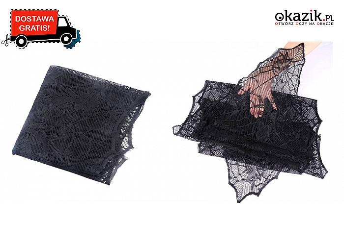 Wykonany w mrocznym klimacie Halloween! Czarny obrus!(24.90 zł)