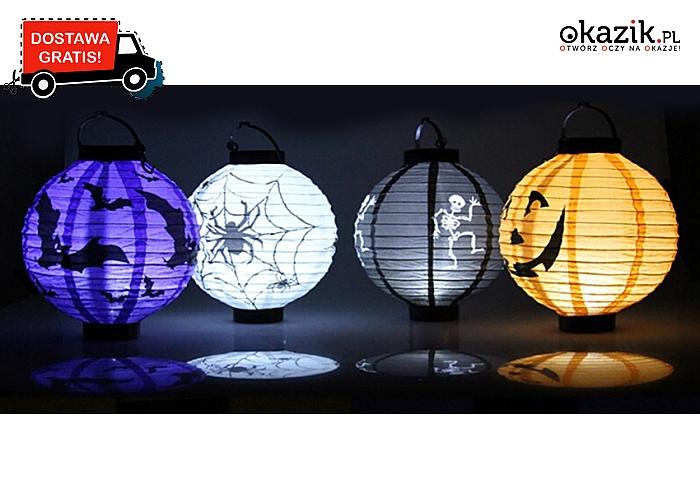 Lampiony dekoracyjne na Halloween, różne wzory. Wyjątkowe: straszne w zabawny sposób! Wysyłka GRATIS! (14 zł)