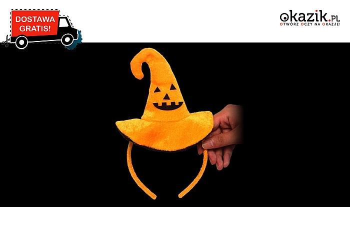 Stworzony na Halloweenowe szaleństwo! Tematyczny kapelusz w stylu dyni! (25zł)