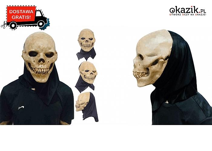 Stylizacja prosto z horroru. Zostań najstraszniejszą postacią podczas Halloween. Wysyłka GRATIS! (67 zł)