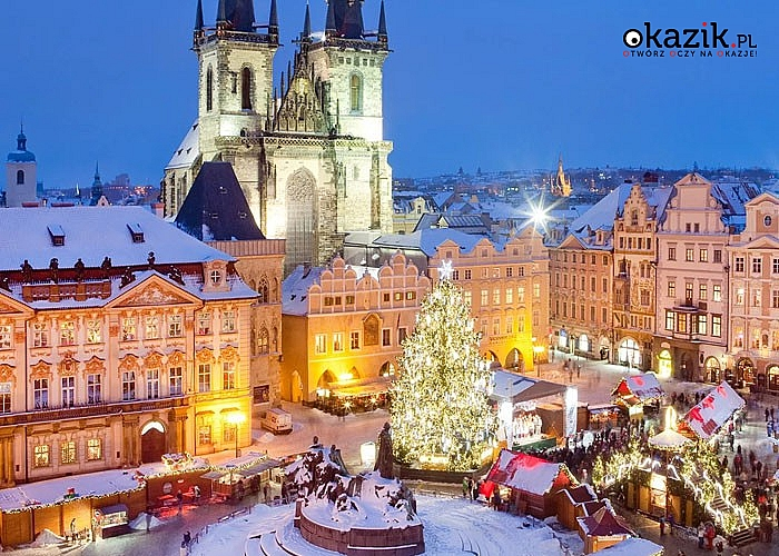 Jarmark Bożonarodzeniowy w Pradze! Autokar! Opieka pilota! Nocleg w hotelu***! Śniadanie!