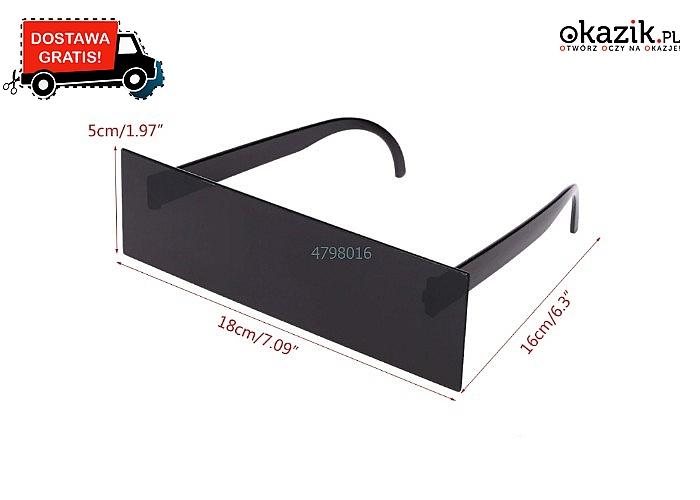 NOWOŚĆ! Okulary przeciwsłoneczne w stylu thug life!