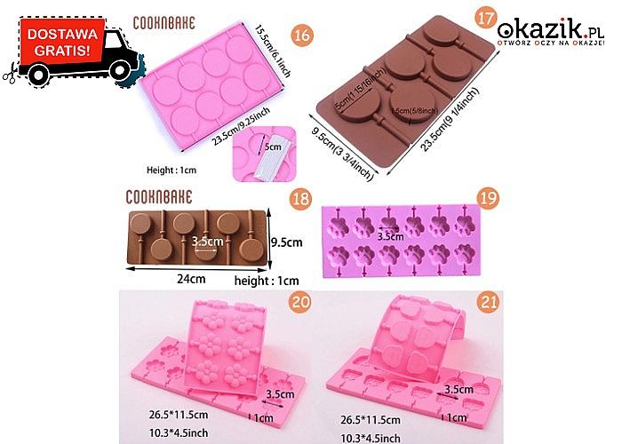 Silikonowe formy do cukierków i czekoladek – niezbędne akcesoria dla fanów słodkości!