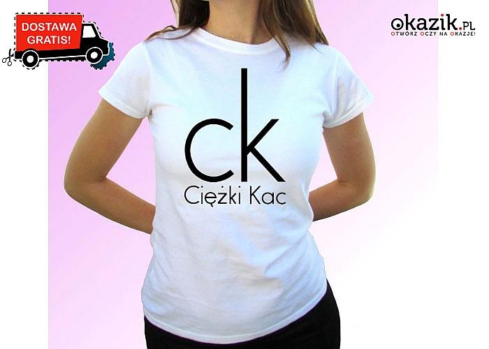 HIIT! Śmieszna koszulka dla amatorów zakrapianych imprez!