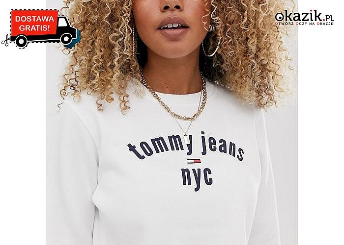 Sportowa elegancja! Damska bluza Tommy Hilfiger!