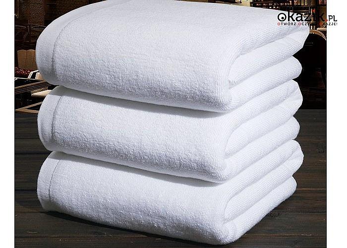 Profesjonalny ręcznik hotelowy- stopka. 5 kolorów do wyboru
