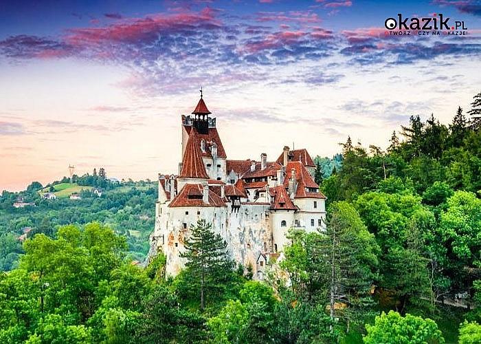Odwiedź Draculę! Wycieczka objazdowa do Rumunii połączona ze zwiedzaniem Budapesztu i rejsem po Dunaju.